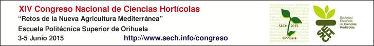 XIV Congreso Nacional de Ciencias Hort�colas